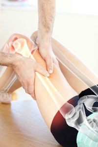 osteopathy used to treat leg muscles
